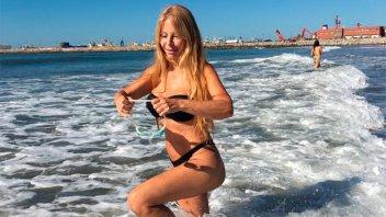 A los 63 años, Graciela Alfano se mostró