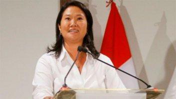 Lava Jato: fiscal de Perú pidió prisión preventiva para Keiko Fujimori