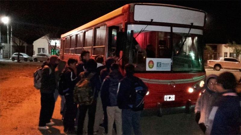 Inspecciones al transporte escolar rural