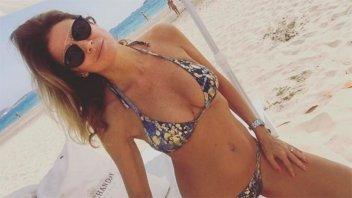 Flavia Palmiero detalló qué hace para mantenerse en forma a los 50 años