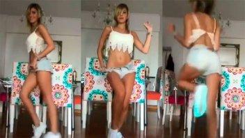 Bailó un reggaetón muy hot y lo compartió en las redes sociales
