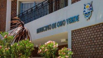Coronavirus: La Municipalidad de Oro Verde cerrará sus puertas hasta el lunes