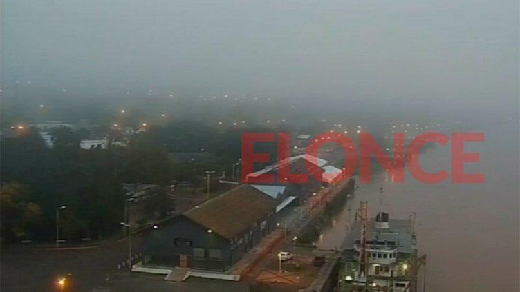 Paraná amaneció cubierta con niebla: el pronóstico para el fin de semana