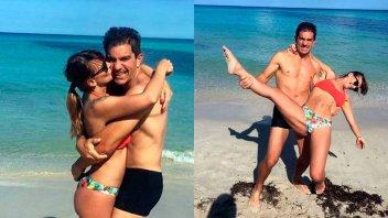 Amalia Granata fue mamá hace cuatro meses y ya se mostró sexy en bikini