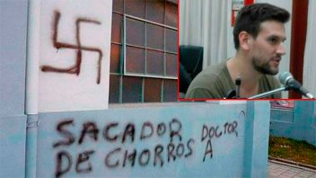 Tiene nueva fecha el juicio por pintadas antisemitas en sinagoga de Basavilbaso