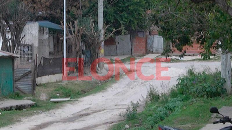 Violento hecho en barrio Humito.