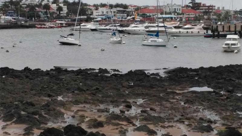 Bajante en Punta del Este. (El País).-