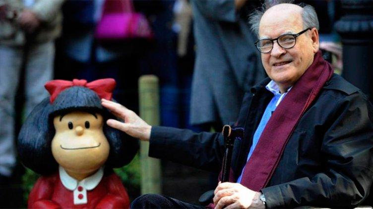 Murió Quino, el artista gráfico y creador de Mafalda