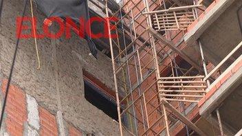 La construcción cayó 13,5% en enero último, el mayor derrumbe en un año