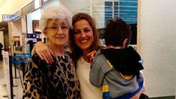 Emotiva historia: La madre de Maju Lozano y un sueño cumplido a los 77 años