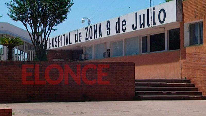 El menor quedó internado en el nosocomio de La Paz
