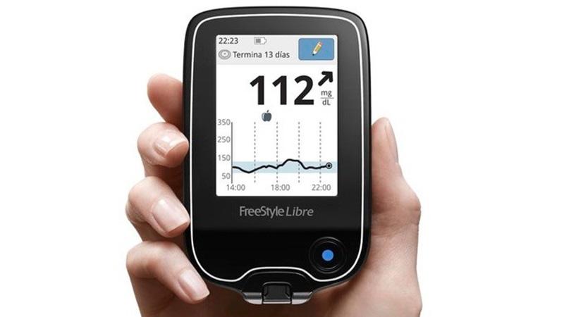 medidor de glucosa sin sangre del club de atención de diabetes