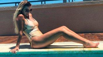 Ailén Bechara luce su embarazo y confiesa: