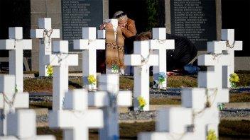 Buscan determinar si hay más restos de soldados argentinos en Malvinas
