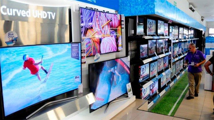 Congelan precios de televisores y otros electrodomésticos por seis meses