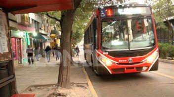 Modifican el recorrido de la Línea 1 en San Martín y San Lorenzo