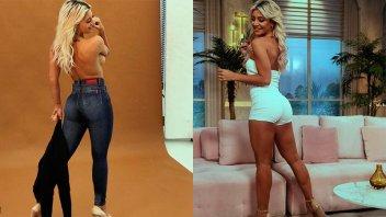 Sol Pérez derritió las redes sociales con varias fotos en topless