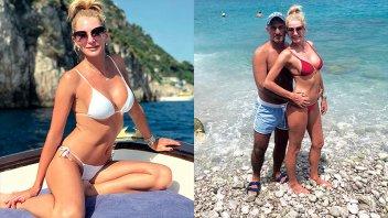 El álbum de fotos de sus vacaciones y el mensaje de Yanina a Diego Latorre