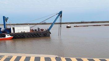 Confirmaron el pago por el mantenimiento del dragado del río Uruguay