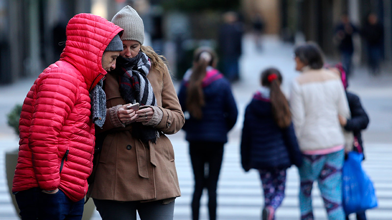 Frente frío refuerza descenso térmico: qué se anticipa para esta zona del país
