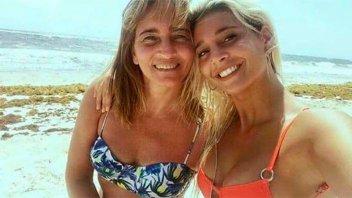 De tal palo...: Sol Pérez publicó una foto de su mamá en traje de baño