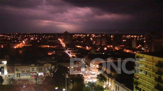 Se renovó la alerta por tormentas fuertes o severas para el sur entrerriano