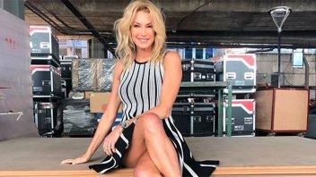 El nuevo topless de Yanina Latorre en el camarín