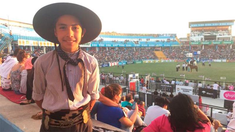 Juan Cruz Merlo en el Festival de Jesús María.