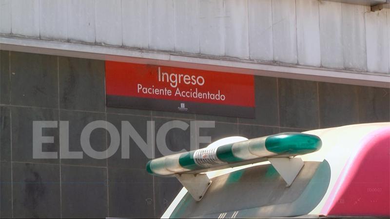Ante las lesiones, la mujer fue derivada a Paraná
