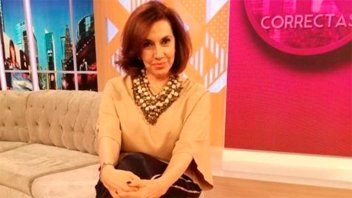 Nora Cárpena habló después del accidente que sufrió en un cementerio