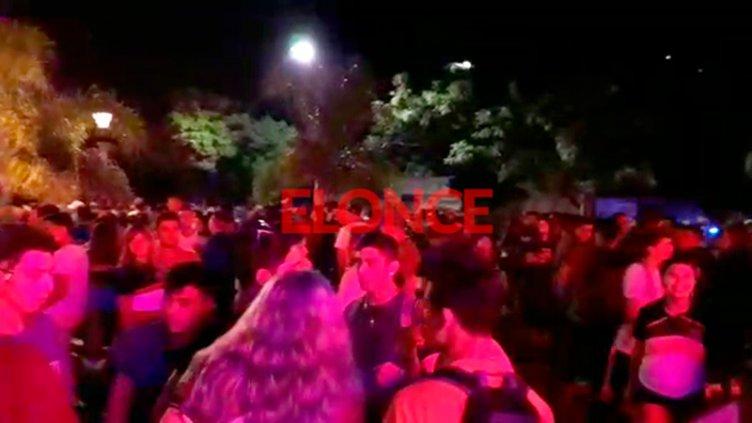 Alrededor de 300 jóvenes festejaron el
