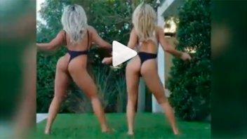 Video: El baile más hot de Sol Pérez junto a una amiga