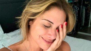 Las sugerentes fotos de Alessandra Rampolla en el día de su cumpleaños