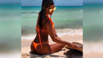 Silvina Escudero posó desnuda y un detalle llamó la atención