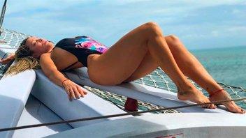 Miriam Lanzoni totalmente desnuda: