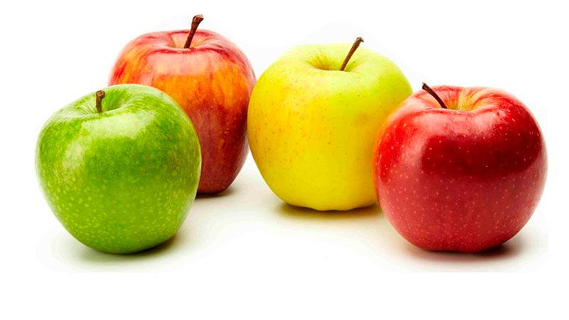 adelgazar comiendo manzanas al