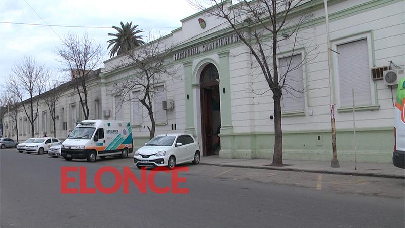 Estaba internado en el Hospital San Martín