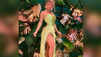 Revelan la verdad sobre la mancha en el vestido de Sol Pérez
