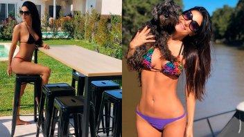 Morocha mostró su primer día de esta temporada en bikini