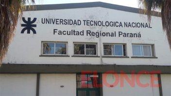 UTN Regional Paraná dicta clases virtuales y presenciales