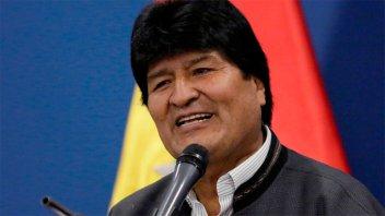 Evo Morales anunció que volverá a Bolivia a principios de noviembre