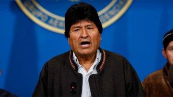 Evo Morales dejó Argentina con destino a Venezuela