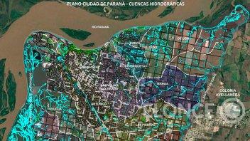 Paraná: se reprogramó la reunión por el Comité de Cuencas