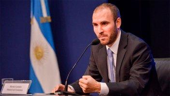 Guzmán advirtió que sin renegociación la trayectoria de deuda sería