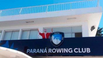 El Paraná Rowing Club ofrece sus instalaciones para la contingencia