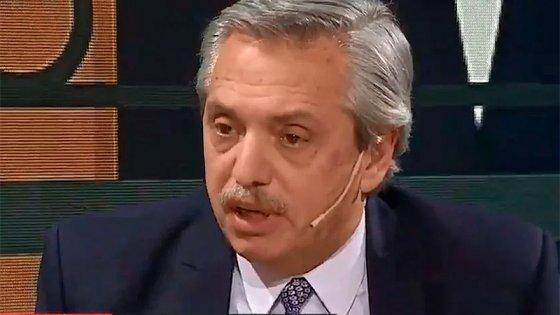 Fernández criticó la