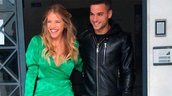 La modelo paranaense Sofia Savoy se casó en Grecia con su novio futbolista