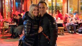 Yanina y Diego Latorre se muestran muy acaramelados en Europa