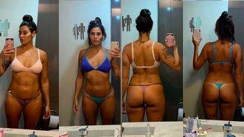 Morocha contó cómo logró transformar su cuerpo en cuatro meses: Fotos