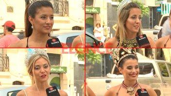 El próximo sábado comienza el Corso de Gualeguay: Reinas desfilaron en Paraná
